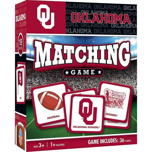 NCAA Oklahoma Sooners Matching Game - image 1 of 2