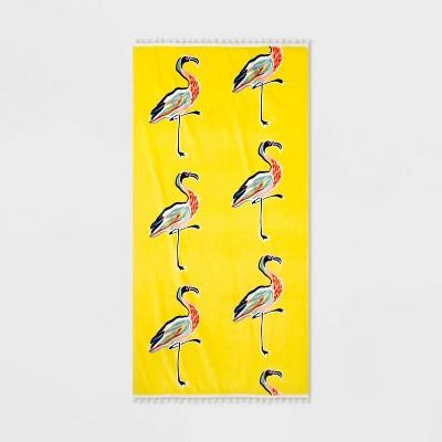 XL Printed Flamingo Beach Towel - Opalhouse™