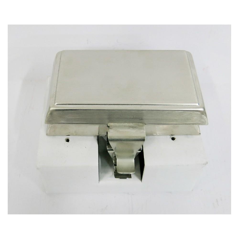 Silver Matte Basic Stocking Holder 2ct - Wondershop