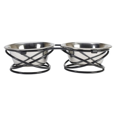 Buddy's Line Spring Style Double Diner Pet Bowl - image 1 of 2