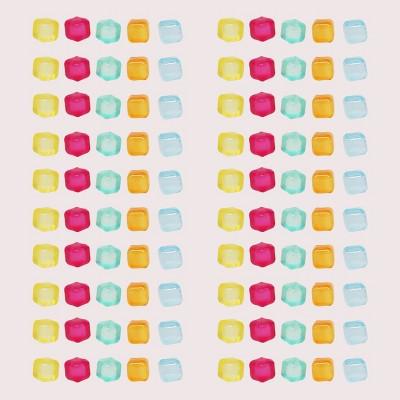 10ct Reusable Ice Cubes Yellow/Pink/Blue - Bullseye's Playground™