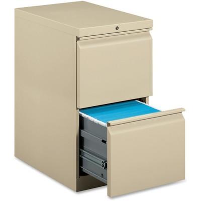 Basyx Mobile Pedestal File File/File 15 x 20 x 28 Putty HBMP2FL