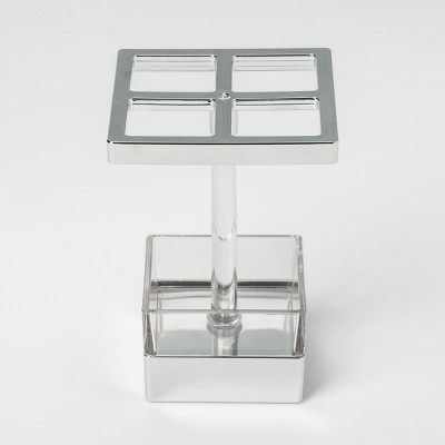 Toothbrush Holder Chrome - Interdesign