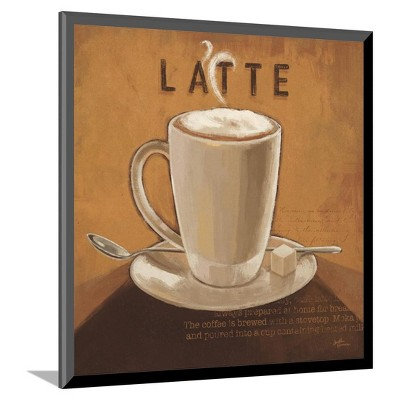 Coffee and Co IV by Janelle Penner Mounted Print 10 x11  - Art.Com