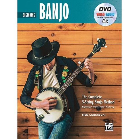 Alfred The Complete 5-String Banjo Method: Intermediate Banjo, Book & Online Audio & Video - image 1 of 1