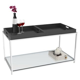 Coffee Table Black - Johar Furniture