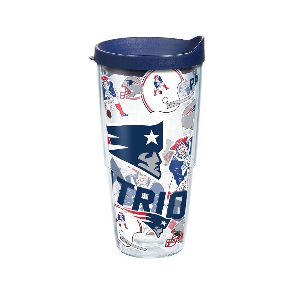 NFL New England Patriots Tervis 24oz All Over Tumbler