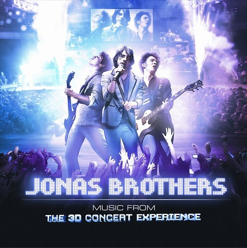 Jonas Brothers - Music from the 3D Concert Experience (CD) - image 1 of 1