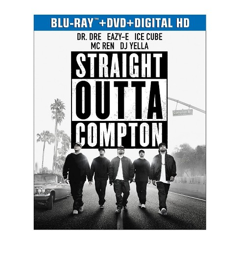 Straight Outta Compton (Blu-ray/DVD) - image 1 of 1