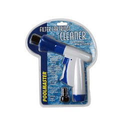 """Pool Master Swimming Pool Filter Cartridge Cleaner Garden Hose Accessory 8"""" - White/Blue"""