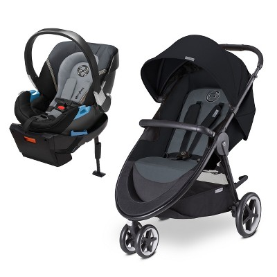 CYBEX Travel System - Agis Stroller & Aton 2 Infant Car Seat - Moon Dust