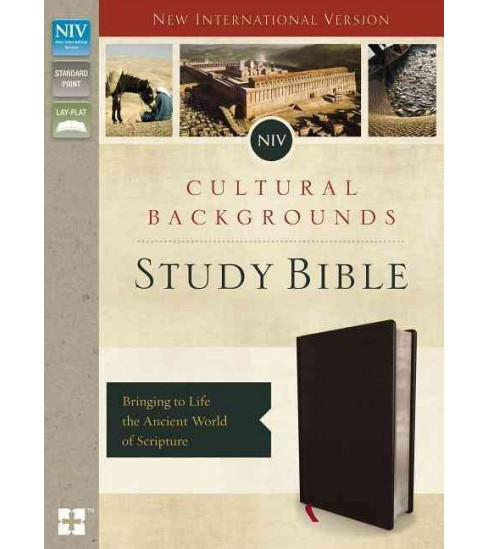 NIV Cultural Backgrounds Study Bible : New International Version, Black, Bonded Leather: Bringing to - image 1 of 1