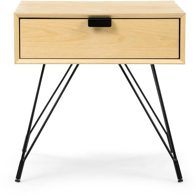 Newell Side Table Natural - Adore Decor