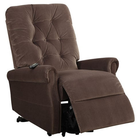 Accent Chairs Acme Furniture Chocolate - image 1 of 3