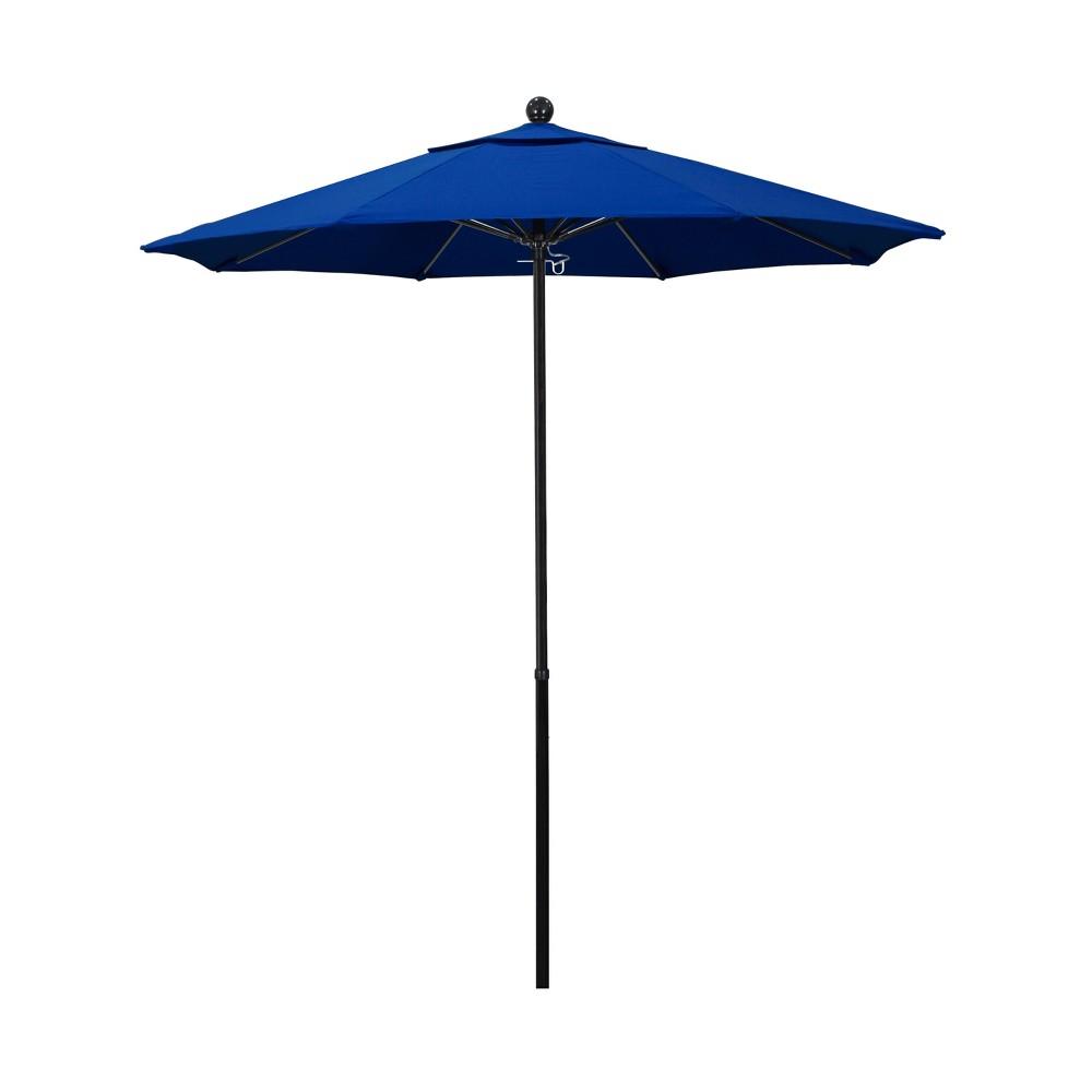 7 5 Aluminum Pulley Patio Umbrella Blue Pacifica