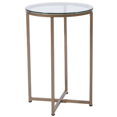 Greenwich End Table Gold - Riverstone Furniture