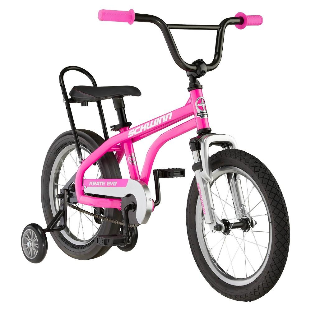 Schwinn Krate Evo 16 34 Kids 39 Bicycle Raspberry