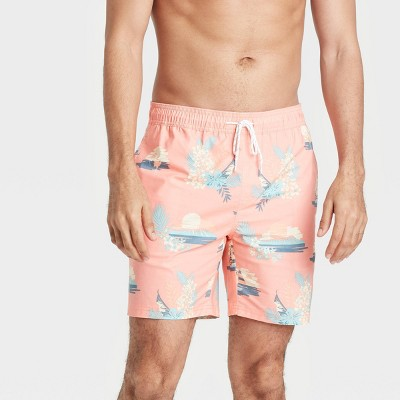 "Men's 7"" Swim Trunks - Goodfellow & Co™ Light Pink"