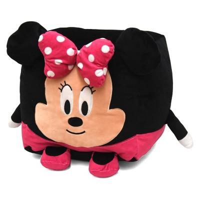 Outstanding Minnie Mouse Kids Bean Bag Floor Cushion Pink Disney Short Links Chair Design For Home Short Linksinfo