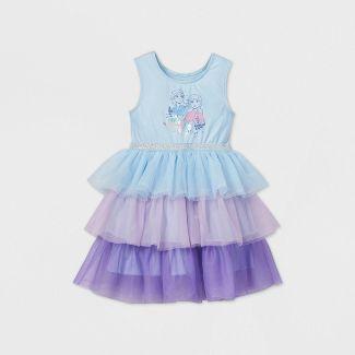 Toddler Girls' Disney Sleeveless Frozen Tiered Tutu Dress - Mint 3T