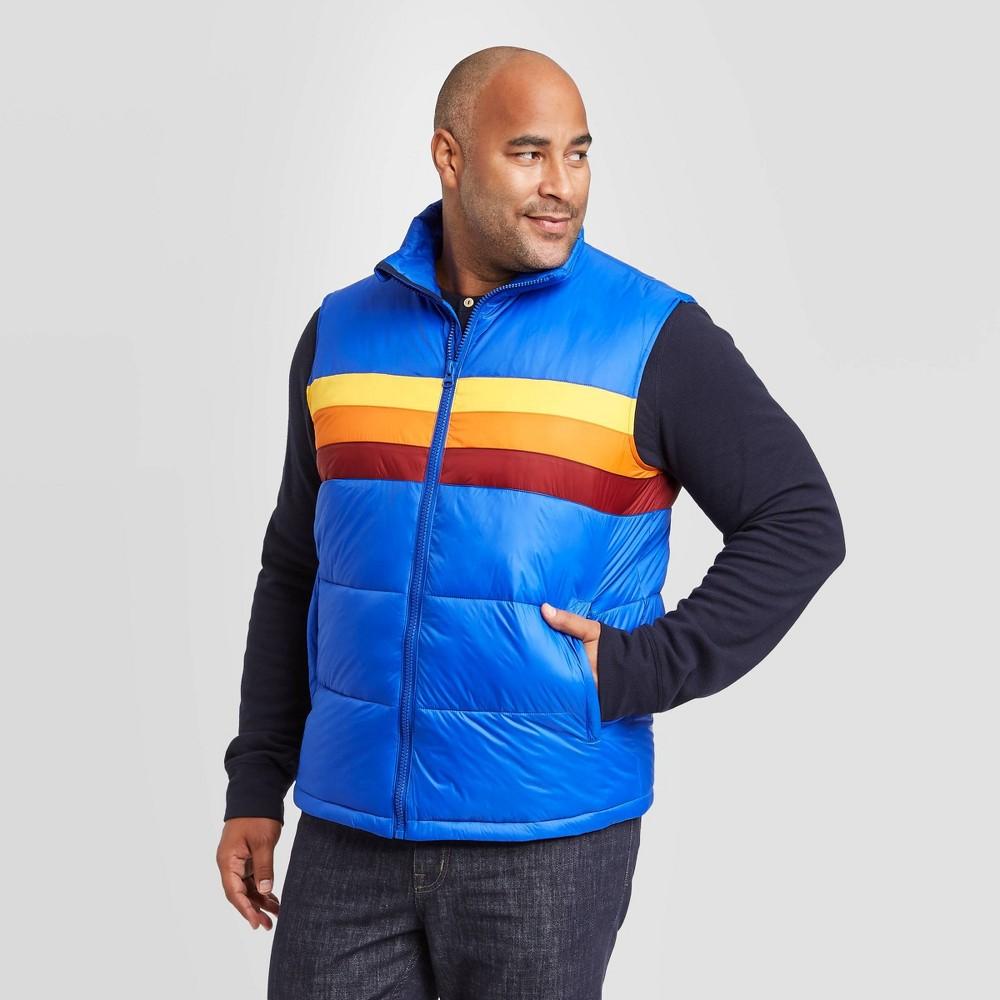 Compare Men's Big & Tall Sleeveless Puffer Vest - Goodfellow & Co™