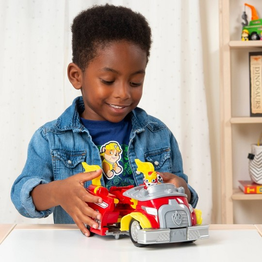 PAW Patrol Marshall and Chase Powered up Vehicles Dual Pack image number null
