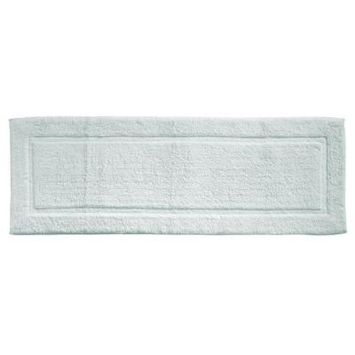 "mDesign Soft Cotton Spa Mat Rug for Bathroom - 60"" x 21"""