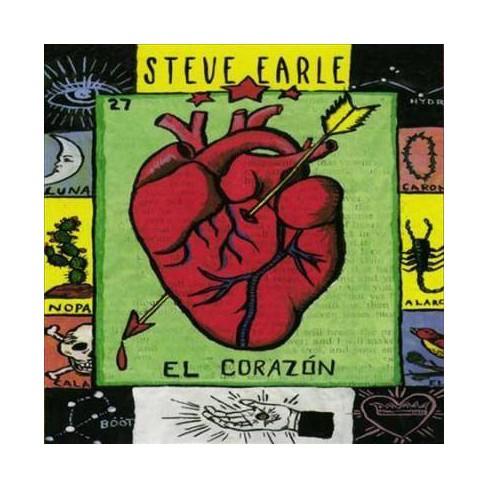 Steve Earle - El Corazon (Vinyl) - image 1 of 1