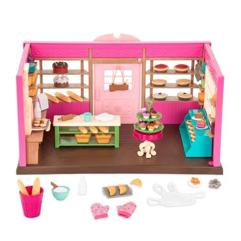 Li'l Woodzeez Store Playset with Toy Food 69pc - Tickle-Your-Taste-Buds Bakery - image 1 of 3
