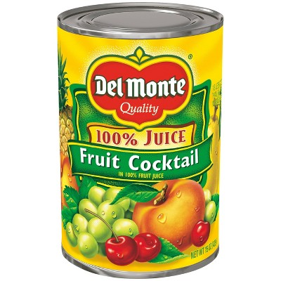 Del Monte Fruit Cocktail in 100% Real Juice - 15oz