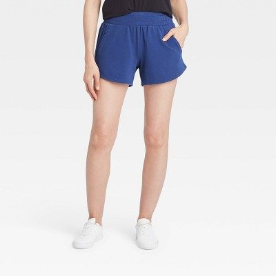 """Women's Mid-Rise French Terry Shorts 4"""" - All in Motion™"""