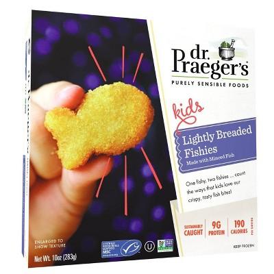 Dr. Praeger's Lightly Breaded Fishies - 10oz