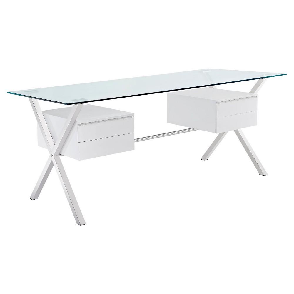 Writing Desk Winter White