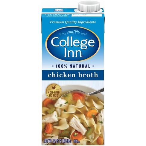 College Inn Chicken Broth - 32 fl oz - image 1 of 3