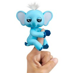 Fingerlings Baby Elephant - Gray (Gray) - Interactive Toy - By WowWee