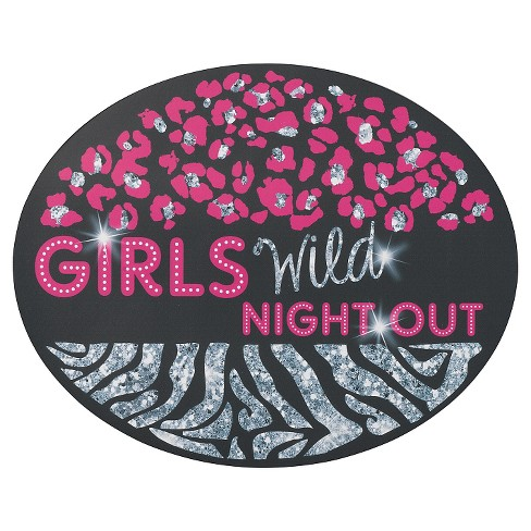 Bachelorette Girls Night Out Repositionable Cling - image 1 of 1
