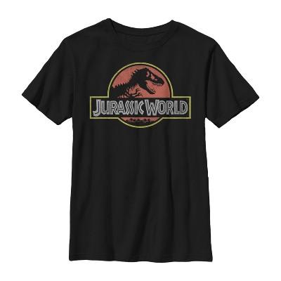 Boy's Jurassic World Iconic Logo T-Shirt