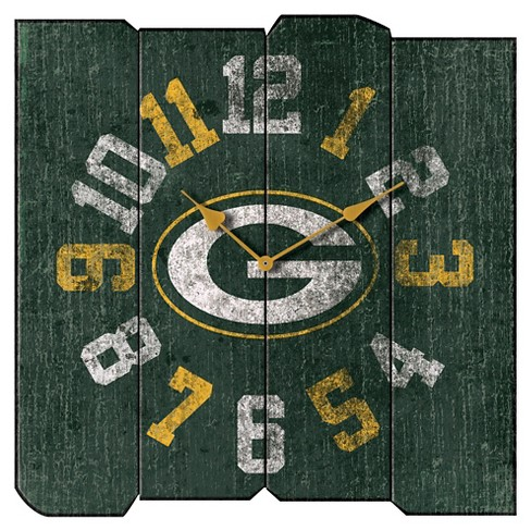 ac5e73b4 Green Bay Packers Imperial Vintage Square Clock