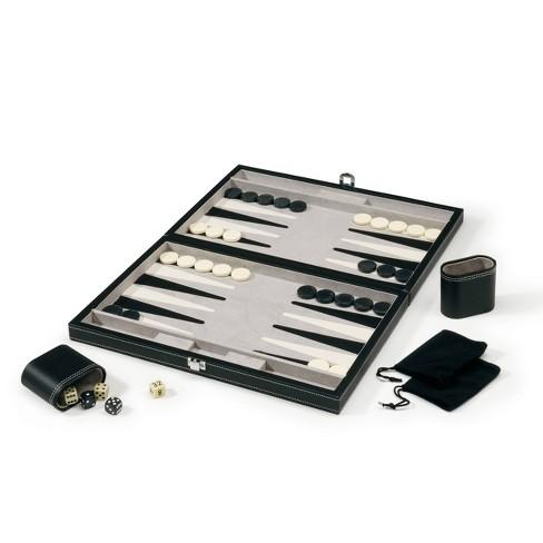 "Mainstreet Classics Classic 15"" Backgammon Set - image 1 of 3"