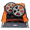 InSTEP Quick and Eazy Bicycle Trailer - Orange/ Gray (Double) - image 2 of 3