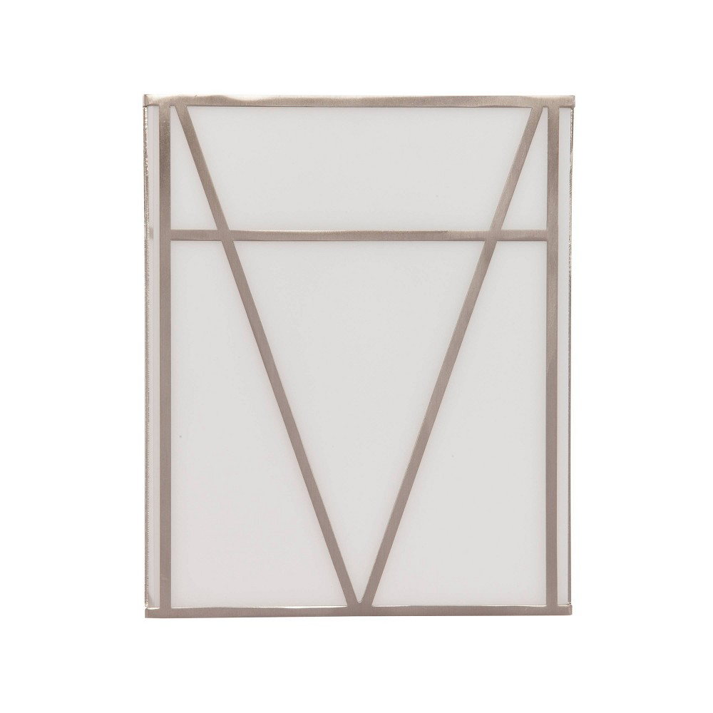 Jimdra Acrylic Sconce Led Lamp White (Includes Energy Efficient Light Bulb) - Aiden Lane