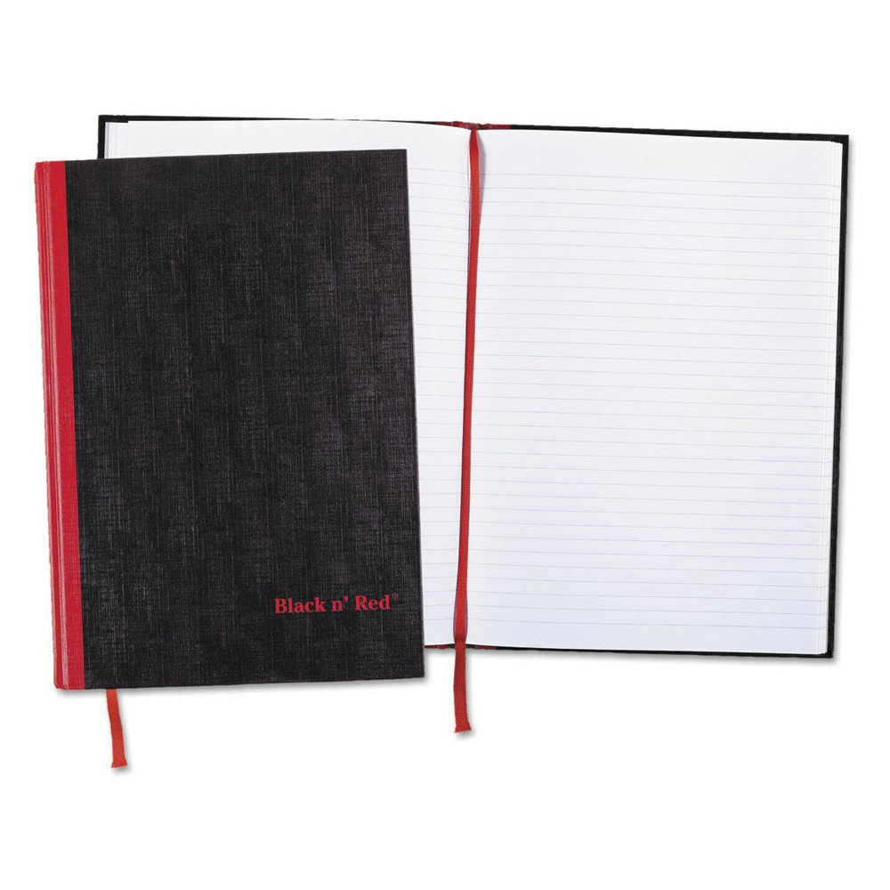 Image of Black n' Red Casebound Composition Notebook, Ruled, 8 1/4 x 11 3/4, 96 Sheets, 2/Pack