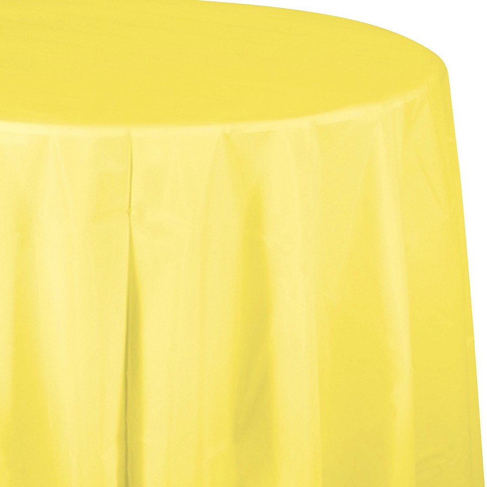 Mimosa Yellow Disposable Tablecloth Price