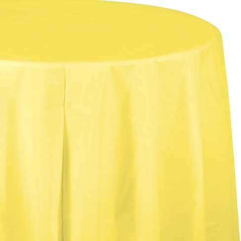 Mimosa Yellow Disposable Tablecloth Target