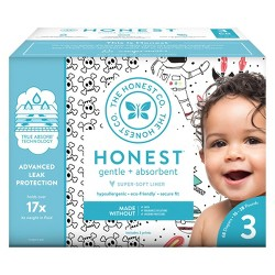 The Honest Company Disposable Diapers Skulls & Space Travel - Size 3 - 68ct