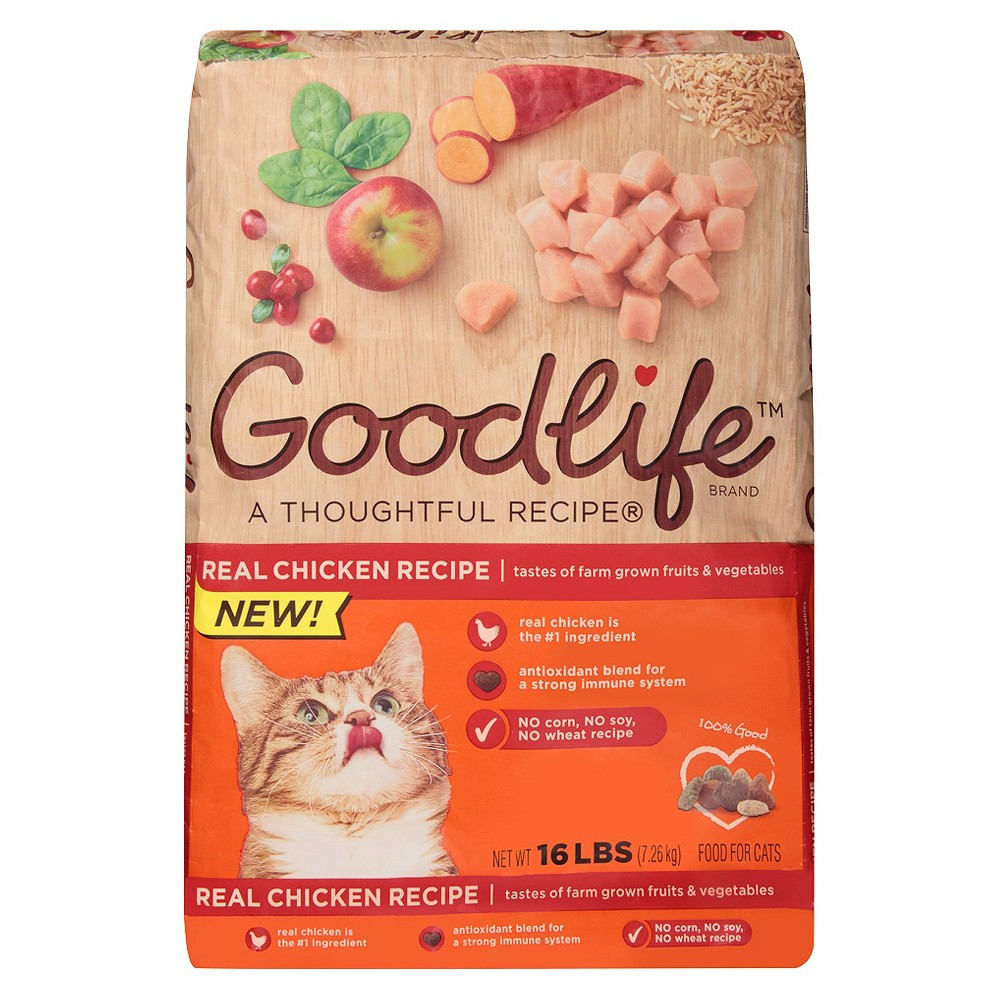 The Goodlife A Thoughtful Recipe Chicken Dry Cat Food - 16.0lbs