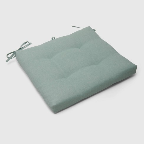 Outdoor Tufted Seat Cushion - Threshold™ - image 1 of 3
