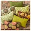 Set of 2 Shoreham Ikat Outdoor Rectangle Throw Pillows - Kensington Garden - image 4 of 4