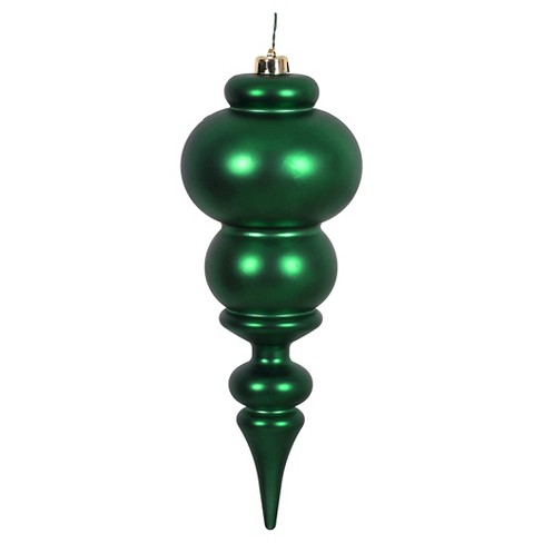 "14"" Emerald Green Christmas Ornament - image 1 of 1"
