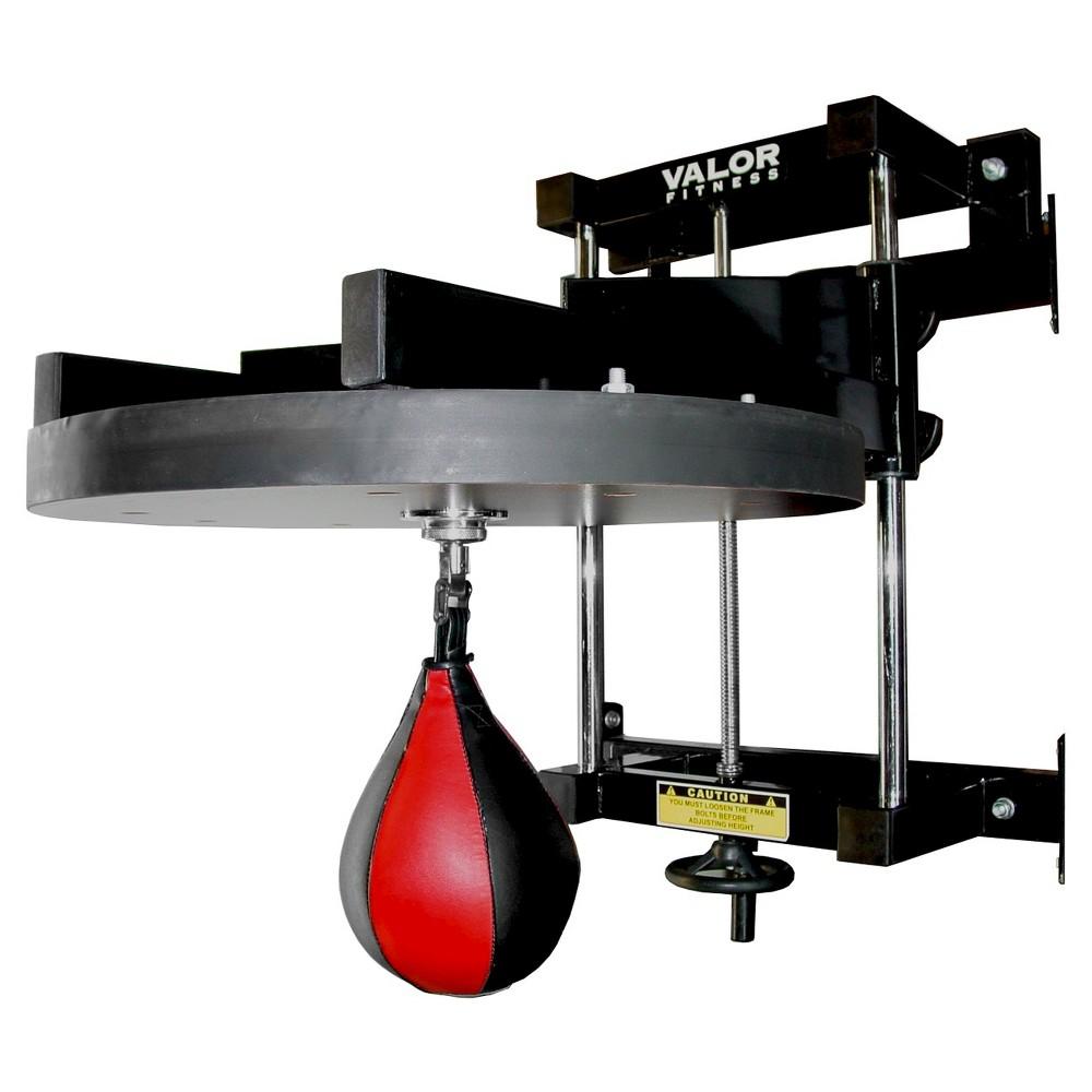 Valor Fitness CA-53 2 Adjustable Speed Bag Platform, Black